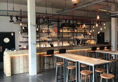 Industriele bartafels voor restaurant